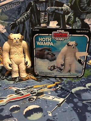Vintage 1980 Kenner Star Wars ESB Hoth Wampa with Original Box