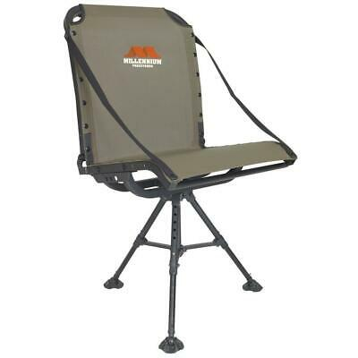 Millennium G100 Ground Blind Hunting Chair Aluminum