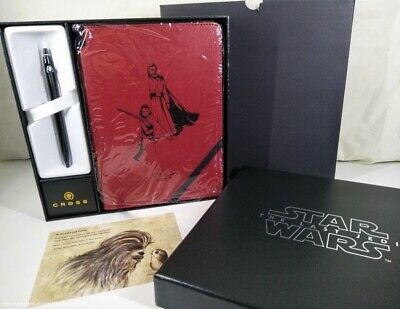 Star Wars (2017) The Last Jedi Crew Gift Notebook & Pen