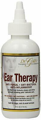 Natural Therapy Drops Infection Medicine For Pet Dog Ear Mite Treatment 4 Fl Oz
