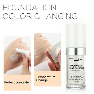 Magic Flawless Color Changing Foundation TLM Make-up Change Skin Tone Concealer