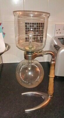 Vintage Retro 1950s Cona Glass Vacuum Coffee Maker Percolator Table Model 367529