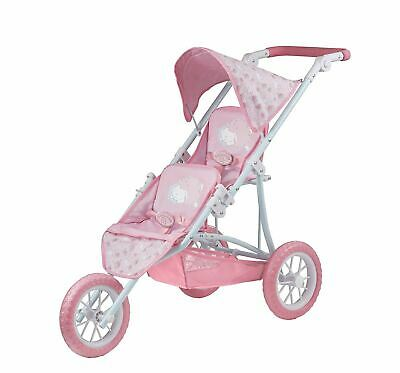 Baby Annabell Double Push Chair Pram Buggy