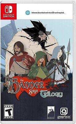 Nintendo Switch Video Game Banner Saga Trilogy Brand New And Sealed