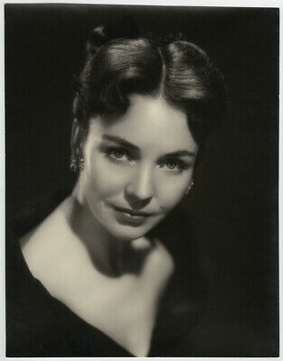 Jennifer Jones Vintage 1950s Large A.L. Schafer Hollywood Regency Photograph