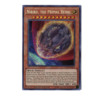 Nibiru, the Primal Being TN19-EN013 Prismatic Secret Rare Limited