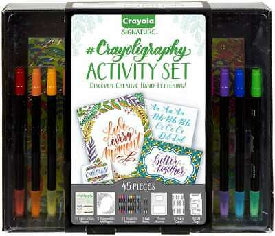 Crayola Signature Crayoligraphy Activity Set  071662103460