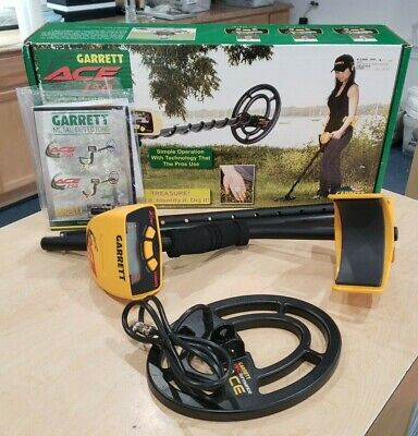 Garrett Ace 150 Enhanced Metal Detector Pre-owned Mint Condition Free Shipping