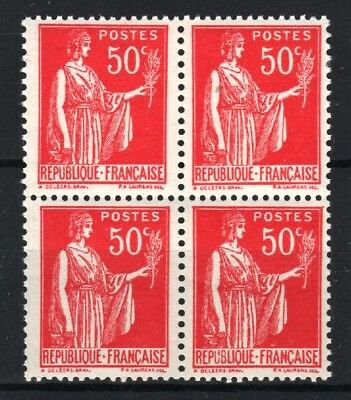 "FRANCE STAMP TIMBRE 283 s "" PAIX 50c FAUX DE BARCELONE BLOC 4"" NEUF xx LUXE R768"