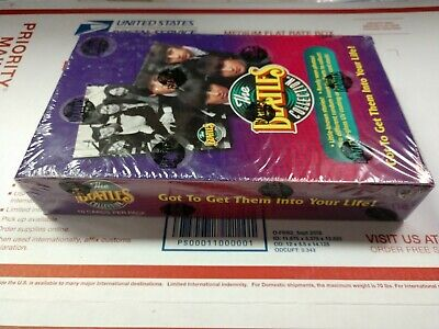 Sealed box the Beatles collection trading cards box 36 packs