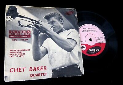 Chet Baker Quartet: Winter Wonderland EP VOGUE 7039 France