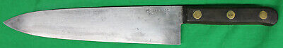Original Antique Foster Bros Brothers Chefs Knife