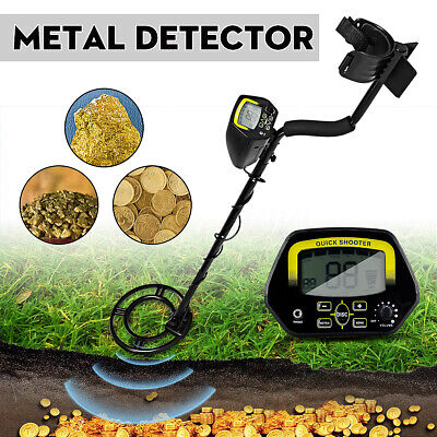 METAL DETECTOR SENSITIVE Search Treasure Hunter Waterproof W