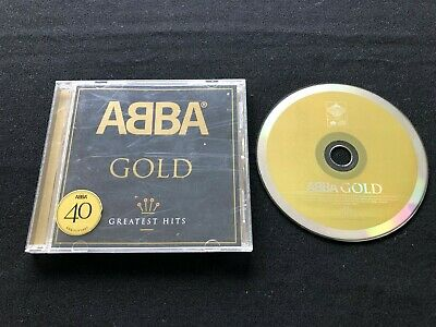 ABBA GOLD 40th ANNIVERSARY GREATEST HITS 1724732-1 AUSTRALIAN 2008 RELEASE CD
