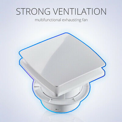 Wall Mounted Exhaust Fan Home Bathroom Kitchen Garage Air Vent Ventilation 220V