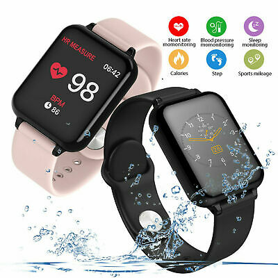 Bluetooth4.0 Smart Watch Mate Phone Wrist Tracker Fitness  IP67 for Android iOS