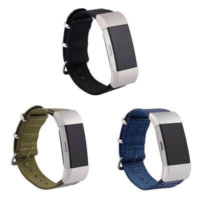For Fitbit Charge 2 Smart Watch Watchband Nylon Wrist Replacement Watch Strap