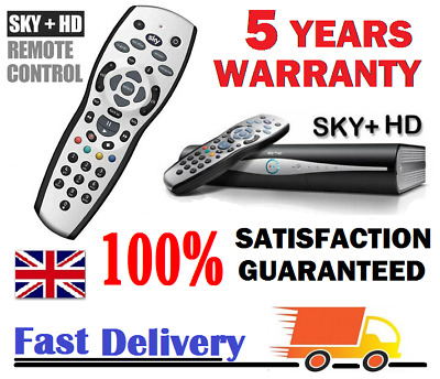 SKY+ PLUS HD Remote Control 2019 REV 9 TV REPLACEMENT - FREE Delivery