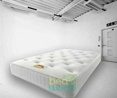 Pocket Sprung Mattress - Choice of 1000, 2000, 3000 Spring - 3ft, 4ft, 4ft6, 5ft