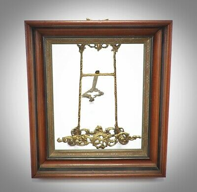 Antique Victorian Eastlake Deep Shadow Box Walnut Picture Frame for 10 x 12
