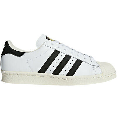 Details zu Mens ADIDAS SUPERSTAR Blue White Casual Trainers BB5796 UK 7.5