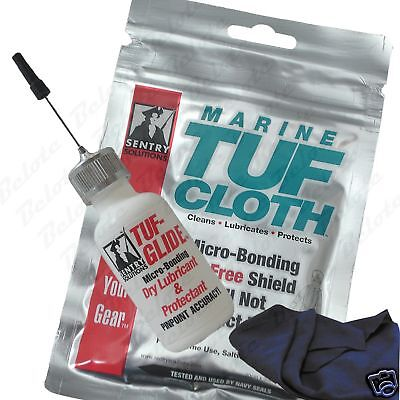 Sentry Solutions Combo Paquete Tuf-Glide + Marina Tuf-Cloth