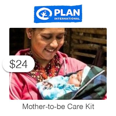 $24 Mother-to-be Care Kit Symbolic Charitable Donation
