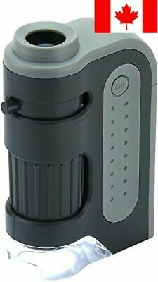 Carson Micro Brite Plus 6X-12X LED Lighted Pocket Microscope