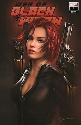Web Of Black Widow #1 Shannon Maer Trade Dress Variant Limited To 3000