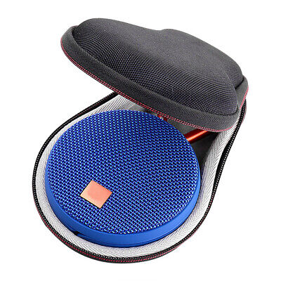 Hard Travel Portable Bag Storage Box Cover For JBL Clip 2 / 3 Bluetooth Speaker