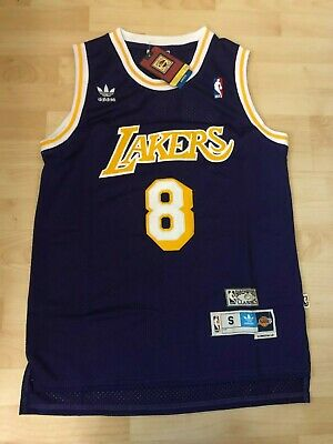Kobe Bryant#8 Los Angeles Lakers HWC Swingman Stiched Purple Jersey NWT