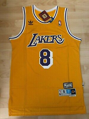 Kobe Bryant#8 Los Angeles Lakers HWC Swingman Stiched Yellow Jersey NWT
