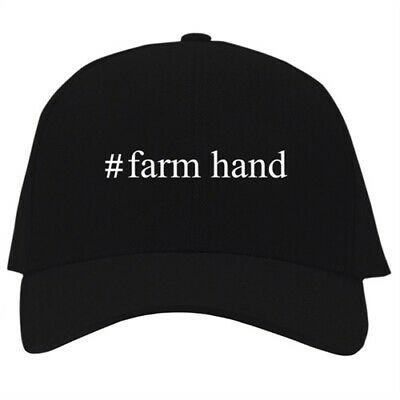 Farm Hand Hashtag Embroidered Baseball Cap