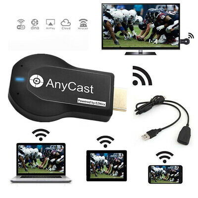 1080P HD Anycast M2 Plus WiFi Display Dongle Airplay Miracast HDTV Empfänger KG