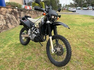 Suzuki DRZ-400e EX-AUS ARMY Upgraded Bikes For Tough Conditions