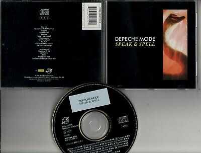 DEPECHE MODE Speak & Spell 1988 CD HOLLAND MUTE INT836.805 W 5 BONUS TRACKS