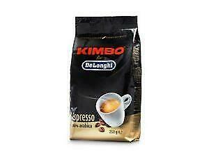 Coffee beans grains Kimbo DeLonghi Express 100% Arabica 250gr superautomatic