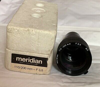 Meridian 110-200mm F3.5 Projector Lens