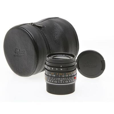 Leica Summicron-M 28mm f/2.0 Aspherical Wide Angle Manual Lens f/ M System 11604