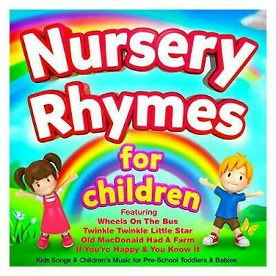 50 Kids Singalong Songs Nursery Rhymes Children's Favorites Kids Audio Cd #1 121
