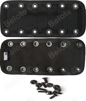 ESEE JUNGLAS MOLLE PANEL, Black With Hardware JUNGLAS-PANEL-B NEW