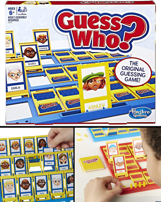 Guess Who? Classic Game kid family for boys girls toy gift present board mystery