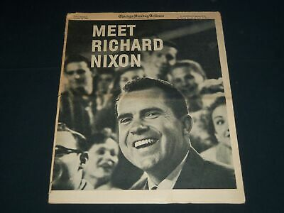 1960 Oct 23 Chicago Sunday Tribune Magazine Section - Richard Nixon - Np 3851