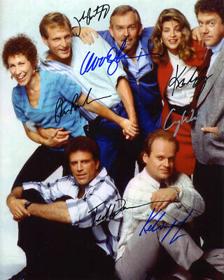 Cheers Tv Cast - Autographed Signed Photograph With Co-Signers