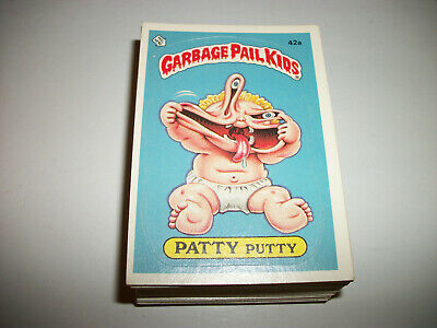 Garbage Pail Kids Lot GPK 1980's Lot Original Series 2 Complete Set 42ab- 83ab