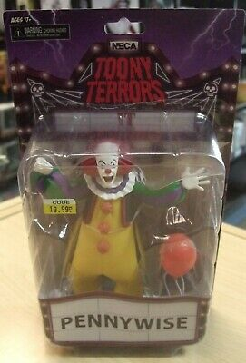 """IT (1990) PENNYWISE 6"""" Scale Action Figure series Toony Terrors by NECA 2019"""