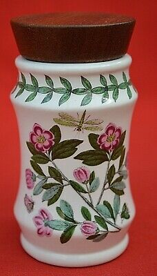 Portmeirion Botanic Garden Shaped Spice Jar - Dianthus - Unused Condition!