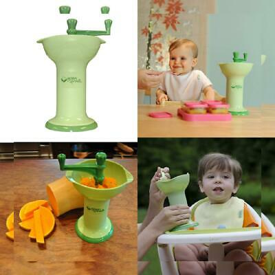green sprouts Fresh Baby Food Mill | Easily purees food for baby | Seperates...