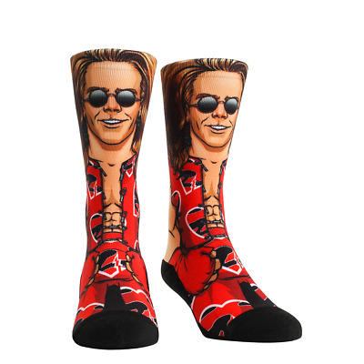 ODD SOX SOCKS WWE WRESTLING SHAWN MICHAELS HEARTBREAK KID MENS TATTOO URBAN