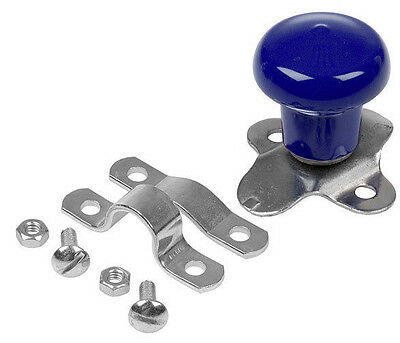 Blue Steering Wheel Spinner Knob for Tractors